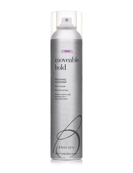 Moveable Hold Finishing Hairspray