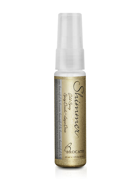 Shimmer Glitter Spray for Hair and Body – Gold