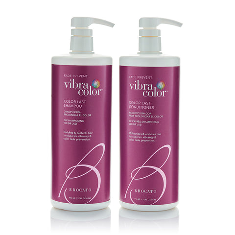 Vibracolor Color Last Shampoo & Conditioner Liter Duo