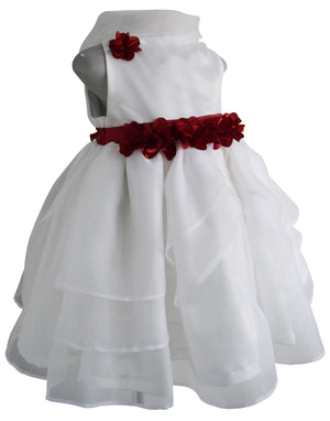 Faye Ivory Tissue Baby Girl Dress