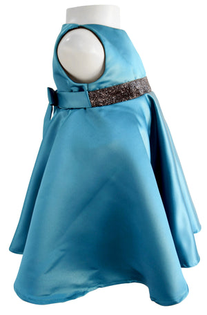 Faye Teal Green Formal Dress_girls designer dress