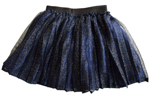 Blue Shimmer Skirt for Kid Girls