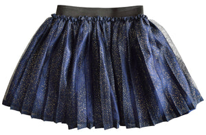 Blue Shimmer Skirt for girls