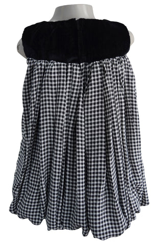 Kids wear_Faye Checks Balloon Dress