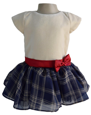 Cotton Velvet Kids Dress