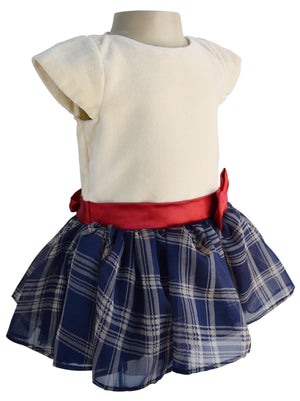 Cotton Velvet Kid Girls Dress
