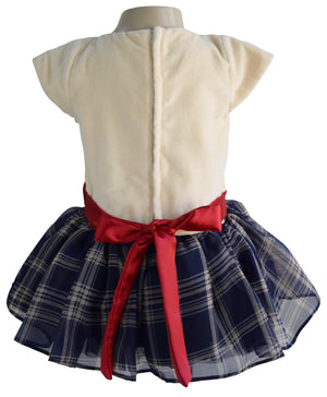 Cotton Velvet Kids Dress_Faye