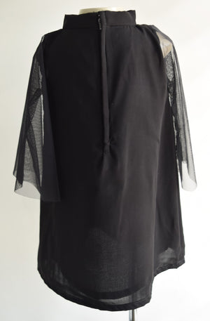 Faye Black Bell Sleeve Dress