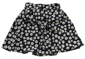 baby skirt_Faye Black Flower Print Skirt