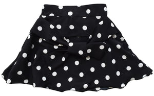 kids wear_Faye Blue Polka Skirt