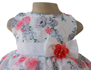 Faye Cherry Floral Party Dress