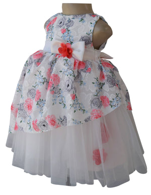 Dress for Girls_Faye Cherry Floral Party Dress