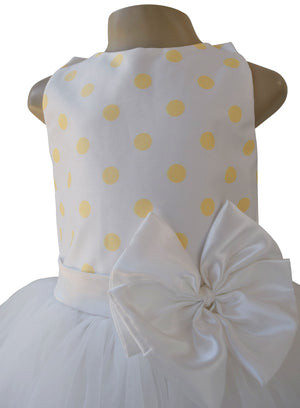 Faye Lime Polka Tutu Dress
