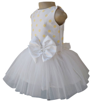 Party Dress for girls_Faye Lime Polka Tutu Dress