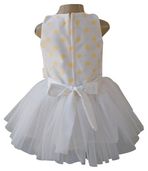 Faye Lime Polka Tutu Dress for Kids