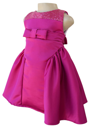 baby dress_Faye Magenta Ceremonial Dress