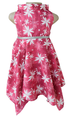 Kids party dress_Faye Mauve Floral Dress