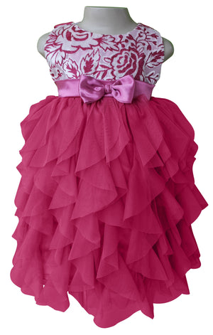 Dresses for Kids_Faye Mauve Waterfall Dress