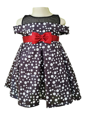 Dress for Girls | Faye Polka Offshoulder Dress