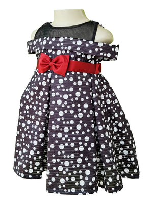 Dress for Kids | Faye Polka Offshoulder Dress