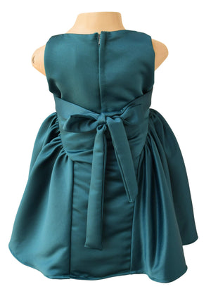 Girls Dress_Faye Teal Ceremonial Dress