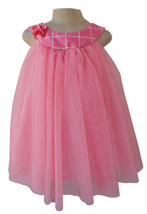 kids wear_Faye Two-tone Pink Dress