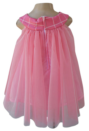 Faye Two-tone Pink Dress for kids