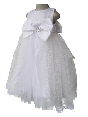 Holy communion Dress_Faye White Embroidered Gown