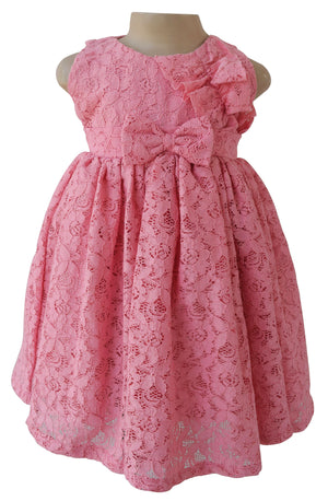 Kids Dress_Faye Blush Lace Dress