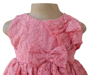 Faye Blush Lace Dress