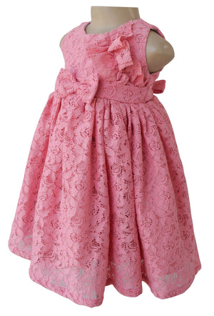 Dress for Kids_Faye Blush Lace Dress