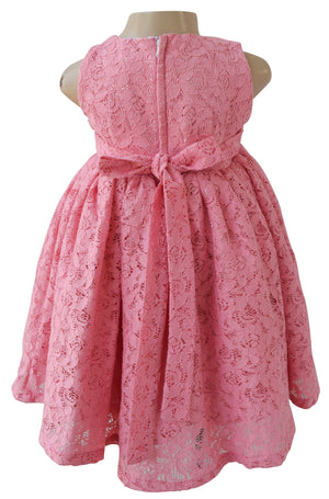 dress for girls_Faye Blush Lace Dress