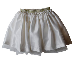 Cream Tutu Skirt for Girls