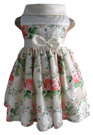 Faye Floral Ceremonial Party Dress for girls