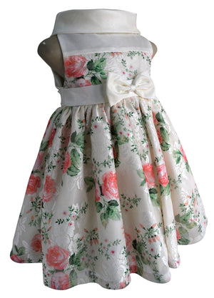 Faye Floral Ceremonial Party Dress for kids
