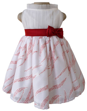 Kids Dress_Faye Ivory Collar Party Dress
