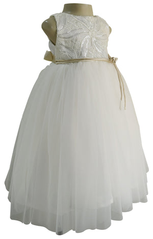 Gown_ Faye Ivory Embroidered Gown for kids