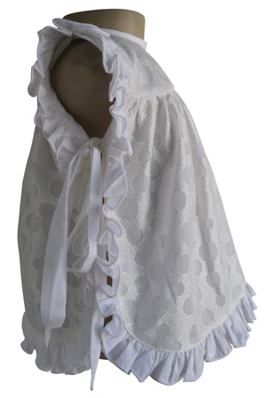 Faye Ivory Lace new born baby Dress