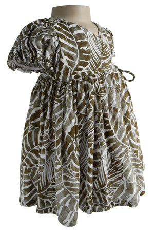 Faye Jungle Wrap Cotton Dress