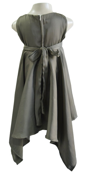 Faye Olive Handkerchief Dress