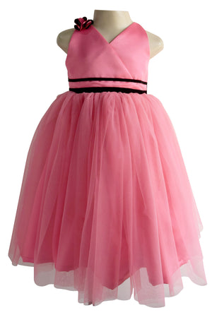 Onion Pink Ribbon Gown for Kids