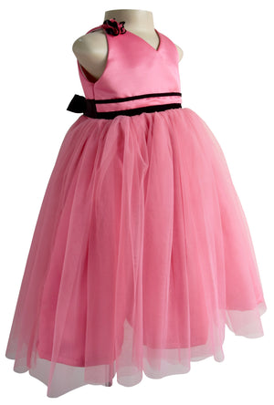 Onion Pink Ribbon Party Gown