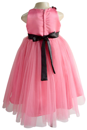 Faye Onion Pink Ribbon Gown