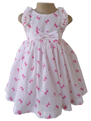 dress for kids_Faye Palm Print Cotton Dress