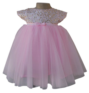 Kids Dress_Pink Sequin Dress_Faye