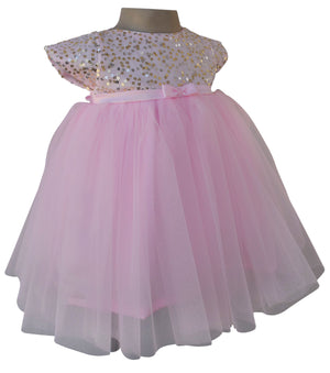 Baby Girl Dress_Pink Sequin Dress_Faye