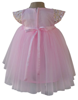 Faye Pink Sequin Dress