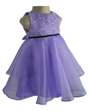 baby dresses_faye Purple Tissue Dress