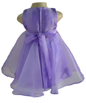 Faye Purple Tissue Dress
