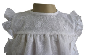 New born dress_White Lace Baby Dress
